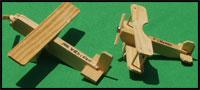 Crafts on Wheels - Wooden model